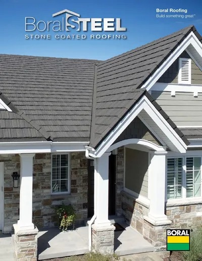 Metal Shingle Roof Replacement using Boral Steel Shingles.