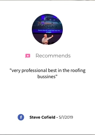 River City Roofing Solutions Facebook Review