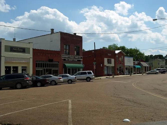 Main Street in downtown Madison AL.