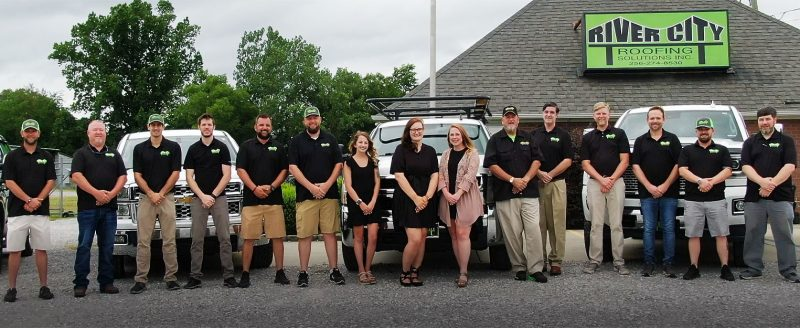 River City Roofing Solutions Roofing Company Team