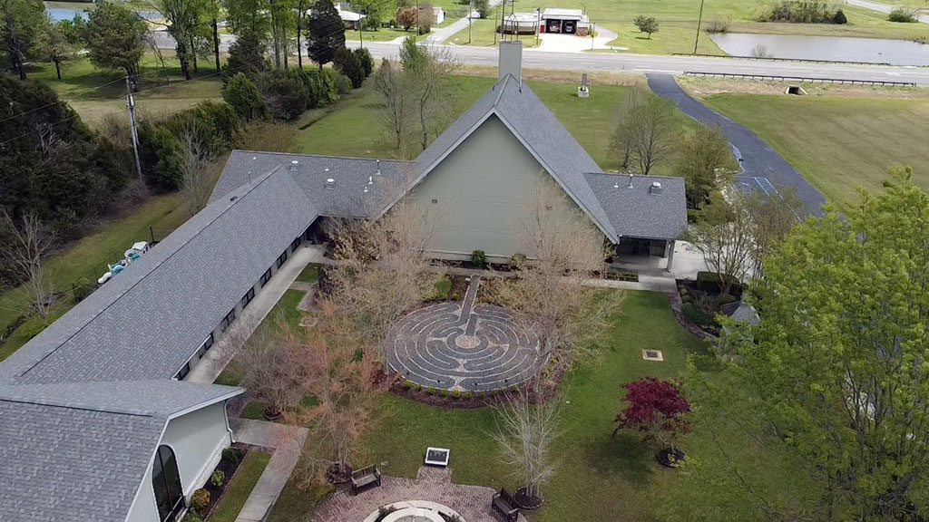 Commercial roof replacement in Huntsville, AL done by RCRS roofing company.