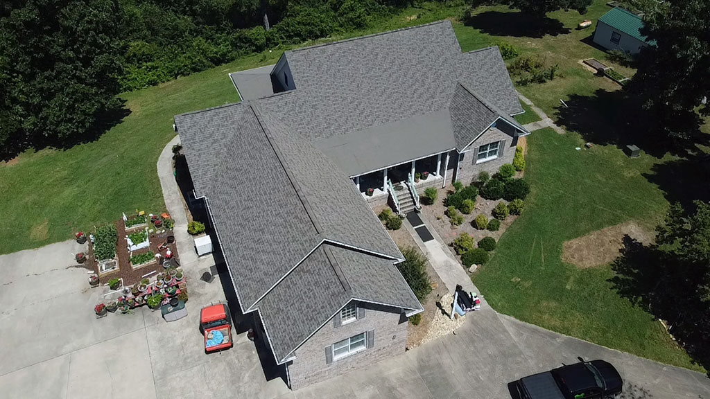 Huntsville, AL roof replacement by RCRS roofing company.